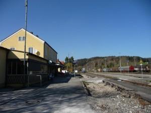 Ehemaliges Gleis 1, Zustand April 2015