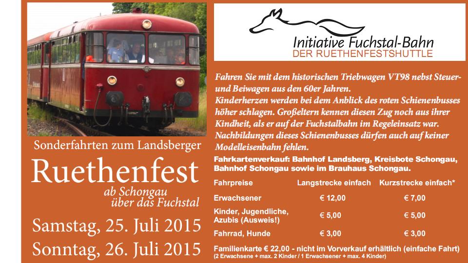 Ruethenfest-Shuttle