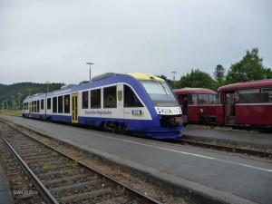 Alt und Neu im Bahnhof Schongau