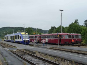 Bayerische Regiobahn und Schienenbusse