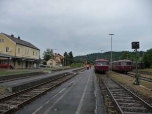 VT 98 abfahrbereit nach Landsberg