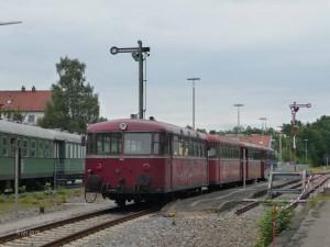 Vierteiliger VT 98 in Landsberg